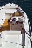 Luxury boat detail. Interior image Royalty Free Stock Photos
