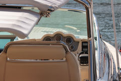 Luxury boat in Kassiopi Royalty Free Stock Image