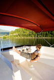 Luxury Boat Owner Stock Photos