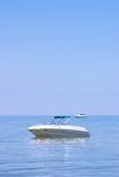 Luxury boat at Sea Royalty Free Stock Photography