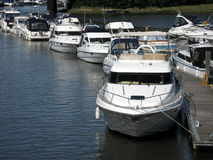 Luxury boats Royalty Free Stock Image