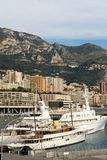Luxury Boats, Monte Carlo, Monaco Stock Images
