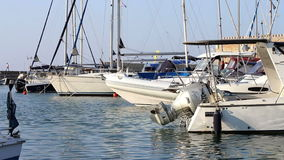 Luxury boats Royalty Free Stock Images