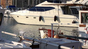 Luxury boats Stock Images