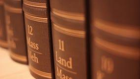 Luxury Books stock footage