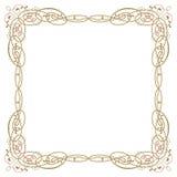 Luxury border frame Stock Photography