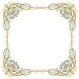 Luxury border frame Royalty Free Stock Photo
