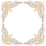 Luxury border frame Royalty Free Stock Photography