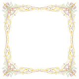 Luxury border frame Royalty Free Stock Image