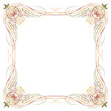 Luxury border frame Stock Photos