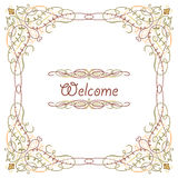 Luxury border frame Royalty Free Stock Images
