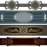 Luxury borders collection. Stock Image