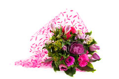 Luxury bouquet of pink flowers Royalty Free Stock Images
