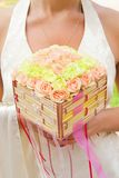 Luxury bouquet of roses. Picture of a Luxury bouquet of roses Stock Photos