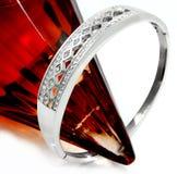 Luxury bracelet for women - Stainless Steel Royalty Free Stock Photos