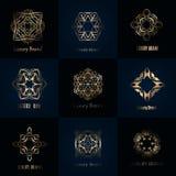 Luxury brand designs Stock Image