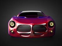 Luxury brandless sport car Royalty Free Stock Image