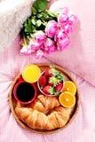 Luxury breakfast Stock Photo