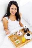 Luxury breakfast service Stock Image