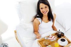 Luxury breakfast service Stock Photo