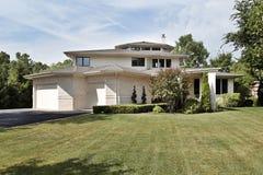 Luxury brick home Royalty Free Stock Photo