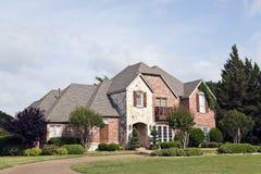 Luxury Brick House royalty free stock images