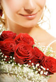 Luxury bridal bouquet Royalty Free Stock Photography