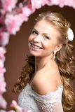 Luxury bride on a bright background Stock Photo