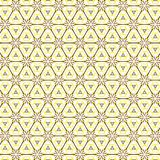 Bright Abstract Colorful Flower Triangle Pattern Background. Luxury Bright Abstract Colorful  Triangle Flower  Pattern Fabric Vector Background Illustration Royalty Free Stock Images