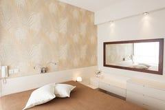 Luxury Bright Bedroom Stock Photography