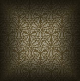 Luxury Brown Floral Background Stock Photos