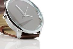 Luxury brown watch Stock Photos
