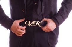 Luxury buckle Stock Photography