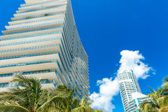 Luxury buildings in Miami, Florida, USA Stock Photography