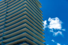 Luxury buildings in Miami, Florida, USA Royalty Free Stock Image