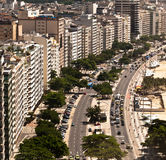 Luxury Buildings in Rio de Janeiro Royalty Free Stock Photo