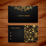Luxury business card Royalty Free Stock Images