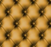 Luxury buttoned leather pattern. EPS 8 Stock Images