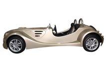 Luxury cabriolet car Stock Photos