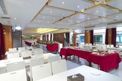 Luxury cafeteria room Stock Images