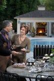 Luxury California Holiday stock image
