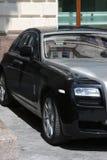 Luxury Car. Close up on a street stock photos