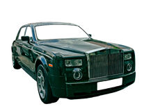 Luxury car royalty free stock images