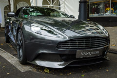 Luxury car Aston Martin Vanquish (since 2012). Stock Photo