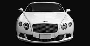Luxury car Bentley Continental GT at the city street. Stock Image