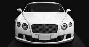 Luxury car Bentley Continental GT at the city street. Stock Photos