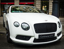 Luxury car Bentley Continental GTC Stock Image
