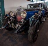 Luxury car Bentley 4 Litre Mulliner Sport-Saloon, ex Capt. Woolf Barnato, 1931. Stock Photos