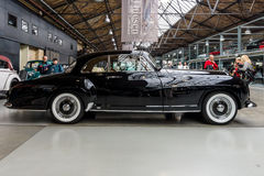 Luxury car Bentley R-Type Continental Coupe `One-Off` by Franay, 1955. Stock Photography