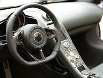Luxury car dashboard Stock Photo